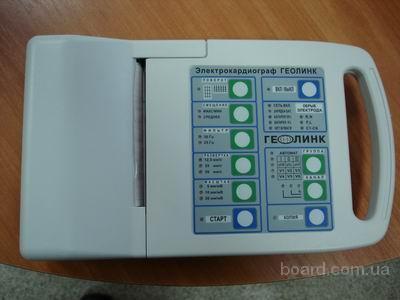электрокардиограф ЭК3Т-12-01 Геолинк 3-х канальный