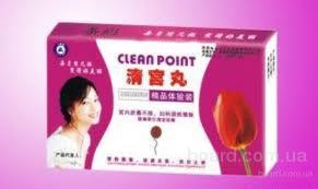 """Женские лечебные тампоны """"Clean Point"""""""