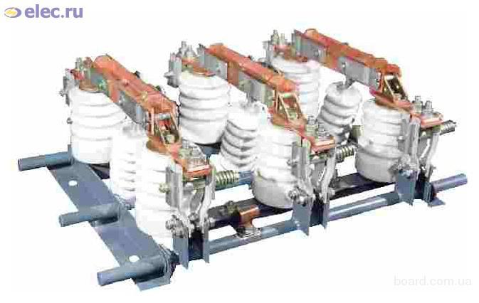 Продажа разъединителей внутренней установки: РВ-10/400 РВ-10/630 РВ-10...