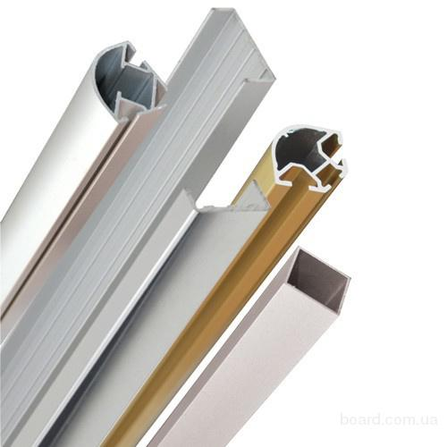 Алюминиевый профиль. Поставка и реализация широкого ассортимента алюминевых систем.