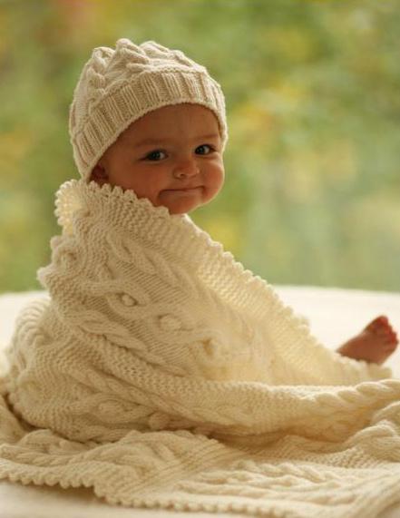 Детское вязаное одеяло - продам.купить
