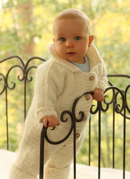 Схемы Вязания Детских Вещей