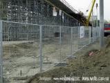 Металлический забор и ворота из сетки от компании ВелтаБудсервис