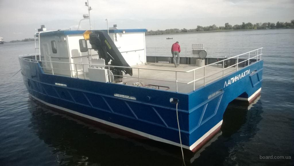 Катамаран проект СФ1500 - многоцелевое рабочее судно Длина, наибольшая 15.00 м
