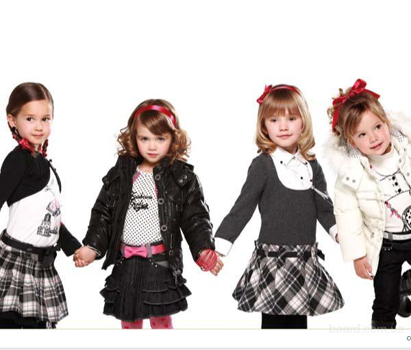 Купить женскую и детскую одежду оптом