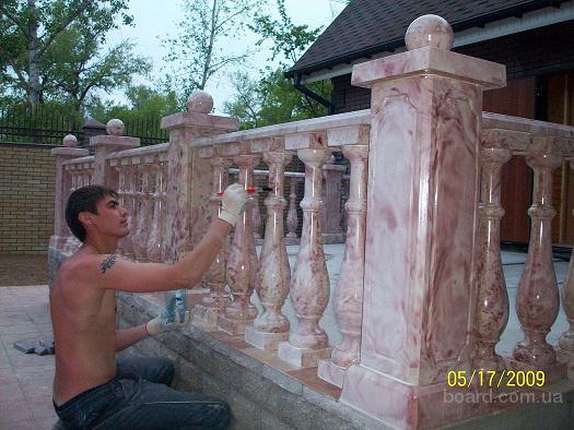 Форма для бетонных балясин