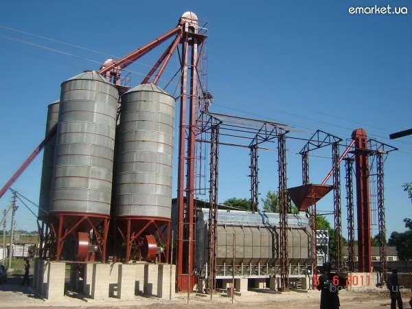 Охладители  зерна ОБВ-40, ОБВ-160  к  зерносушилкам.  Нории. Монтаж.