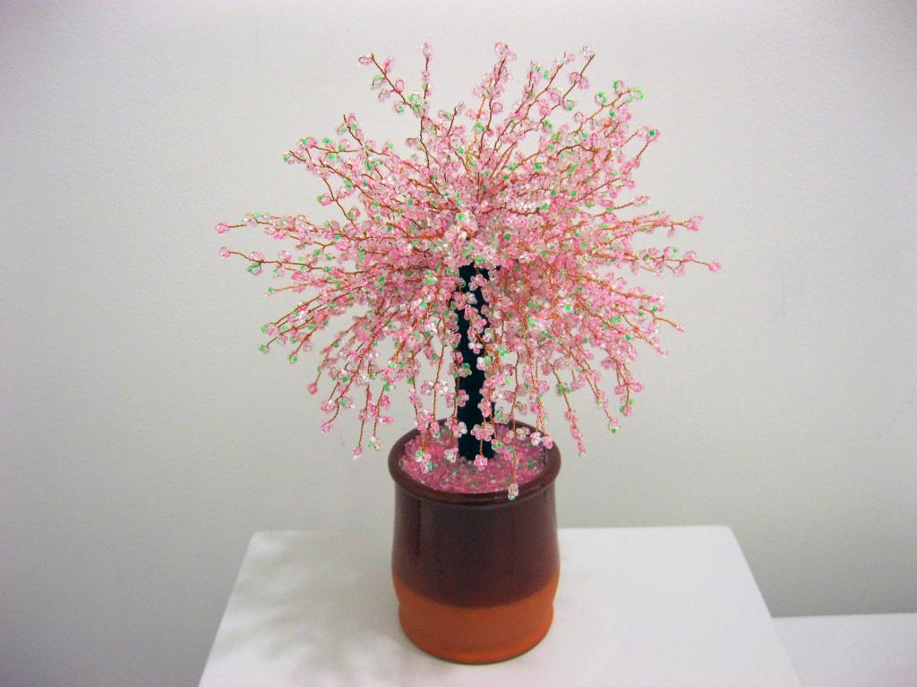 Где можно купить деревья из бисера Бисероплетение.