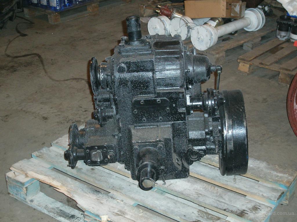 Устройство раздаточной коробки трактора МТЗ-82