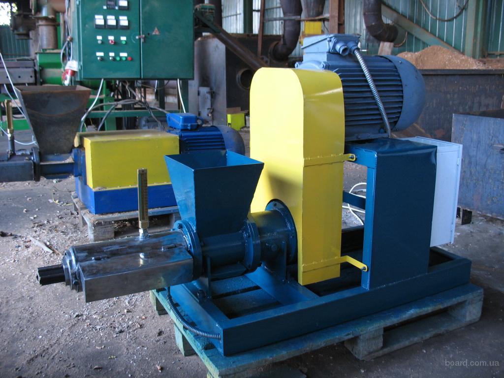 продам : Оборудование для производства топливных брикетов и.