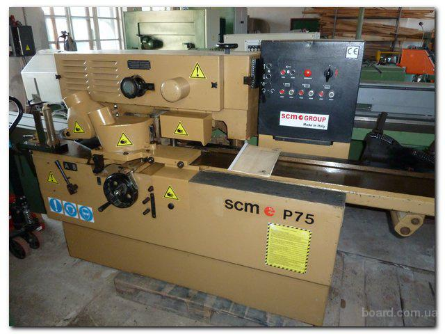 Четырехсторонник SCM модель P-75