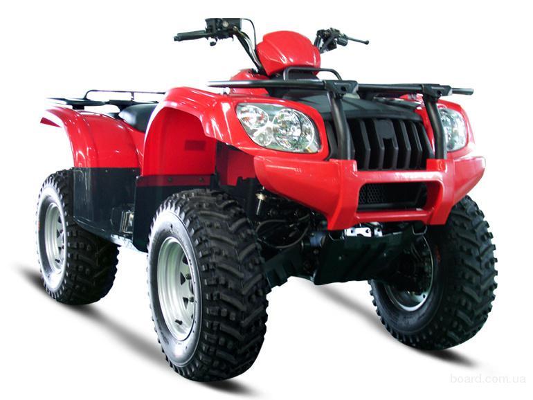 Квадроцикл Stels ATV 500 CF.  Максимальная мощность двигателя: 32 кВт.