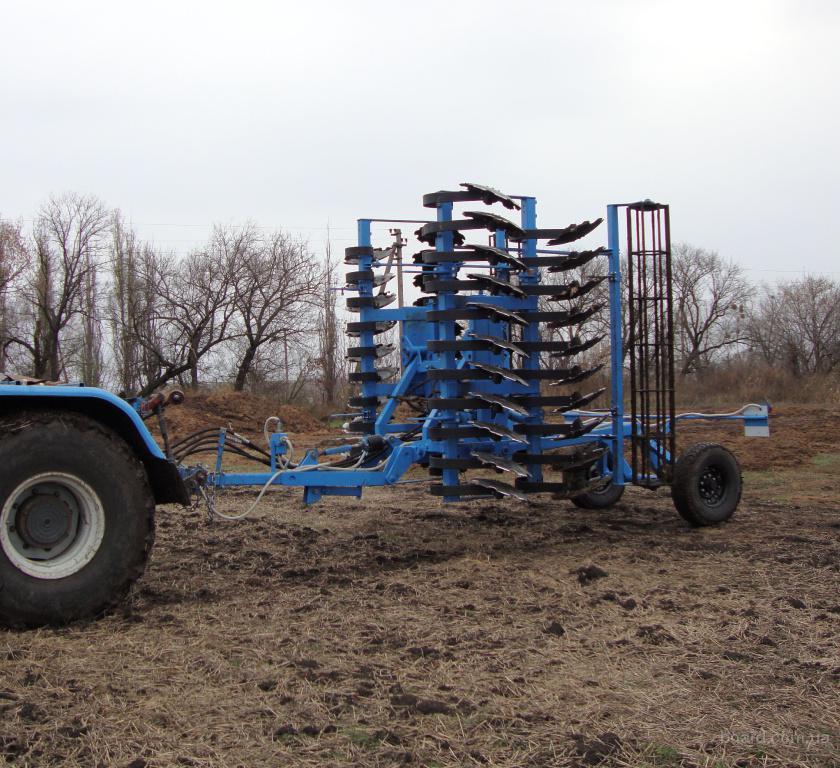 Фото: Лущильники (ЛДГ-10 ЛДГ-15 ЛДВ-4 ЛДВ-6).  Почвообрабатывающая техника, Украина, Харьков и область.
