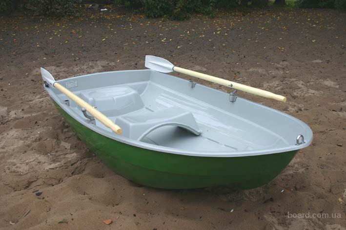 купить гребную лодку из пластика