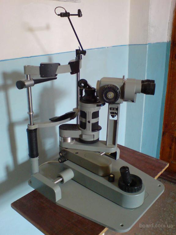 Щелевая лампа щл-2б, украина авторефрактокератометр unicos urk-700, корея рабочее место врача офтальмолога