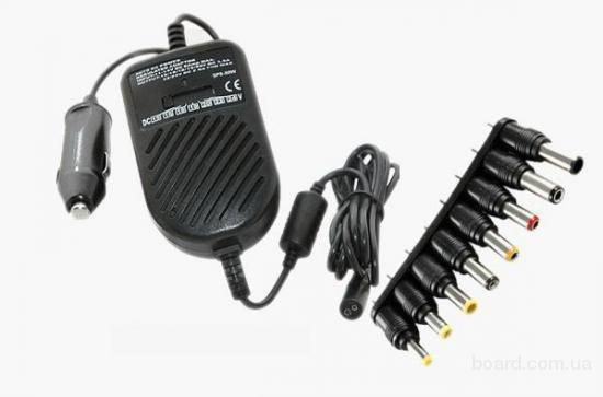 Автомобильное универсальное зарядное устройство для неттбу.