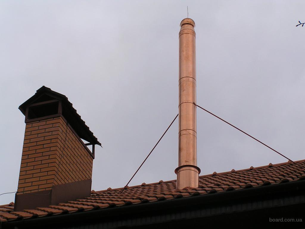 Растяжка для дымохода на крыше своими руками 13