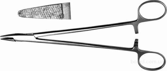 И-10-1 Иглодержатель общехирургический, 160 мм