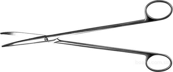 Н-8 Ножницы д/рассеч .мягких тканей в глуб. полост