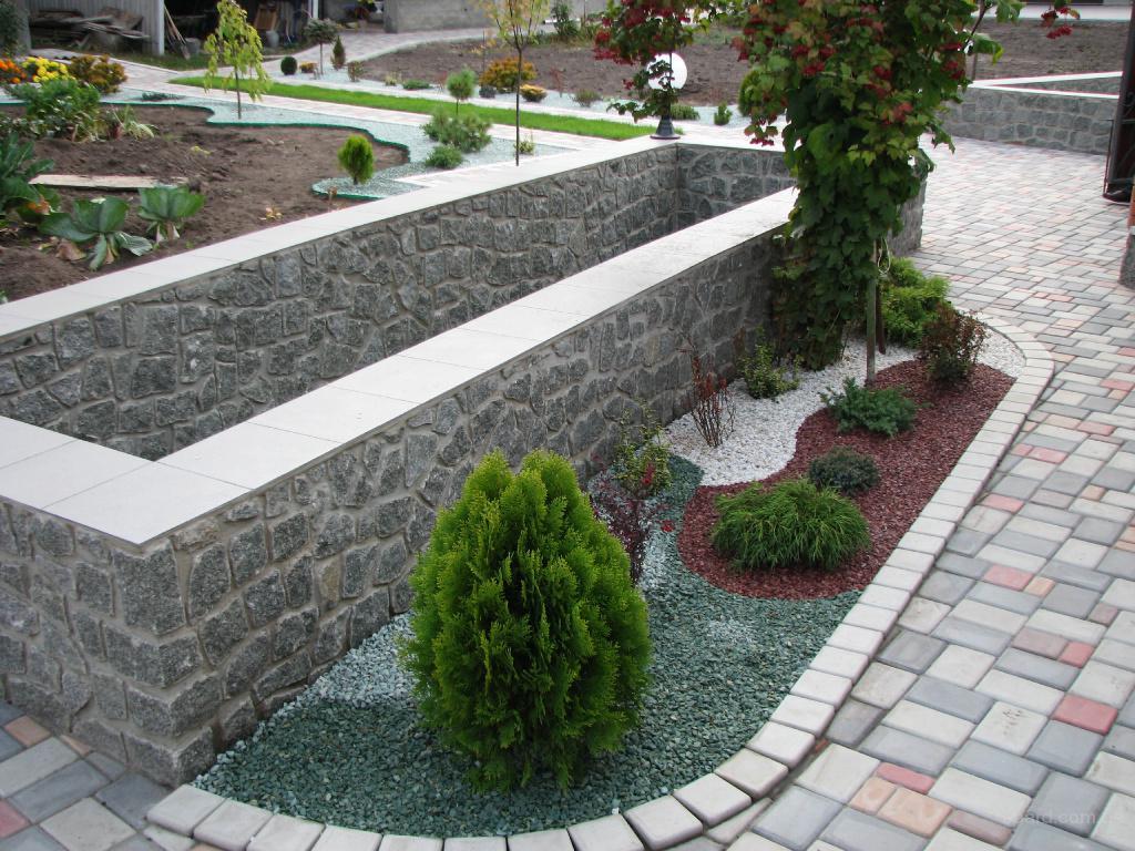 Природный камень для ландшафтного дизайна Камень Природы - Каталог - Природный камень для