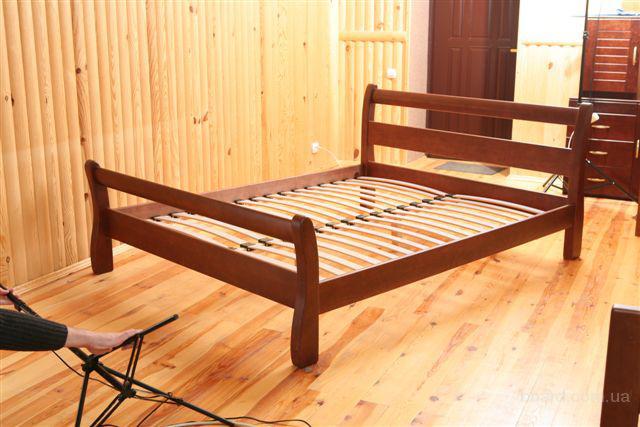 Кровати натуральное дерево массив ольха и ясень непосредственно от Производителя высокое качество