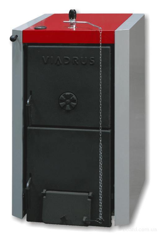 Котел твердотопливный VIADRUS U22 D 4 (20кВт)