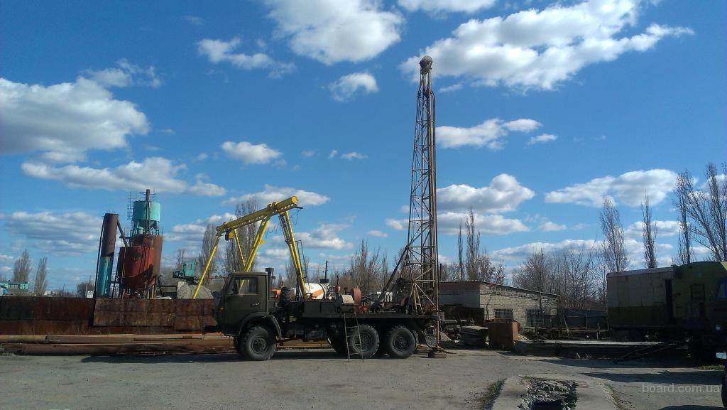 Бурение скважин на воду Днепропетровск