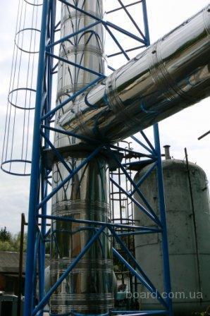 """ооо  """"Изотерм """" производит дымоходы для всех видов отопительного оборудования, а также коллективные дымоходы для..."""