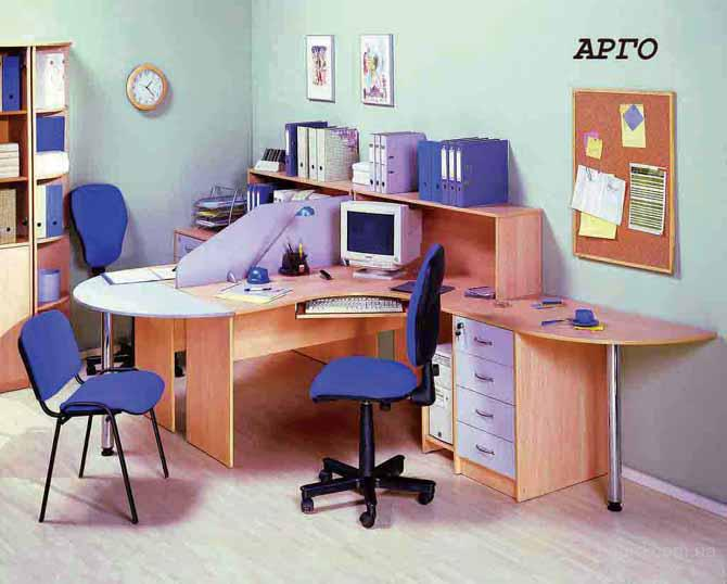 Мебель для персонала Вариант 9 ,изготовление на заказ от производителя офисной мебели Киев.