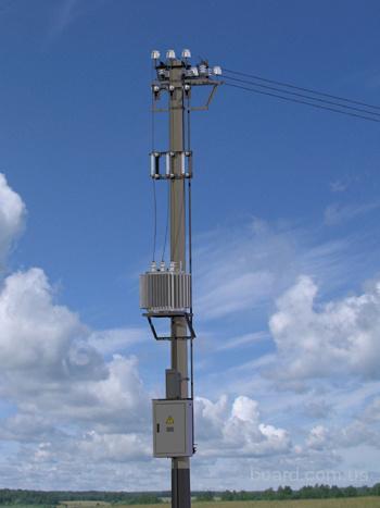 Комплектная трансформаторная подстанция столбовая напряжением 10(6)/0,4 кВ мощностью до 250 кВА (далее по тексту КТПС)...