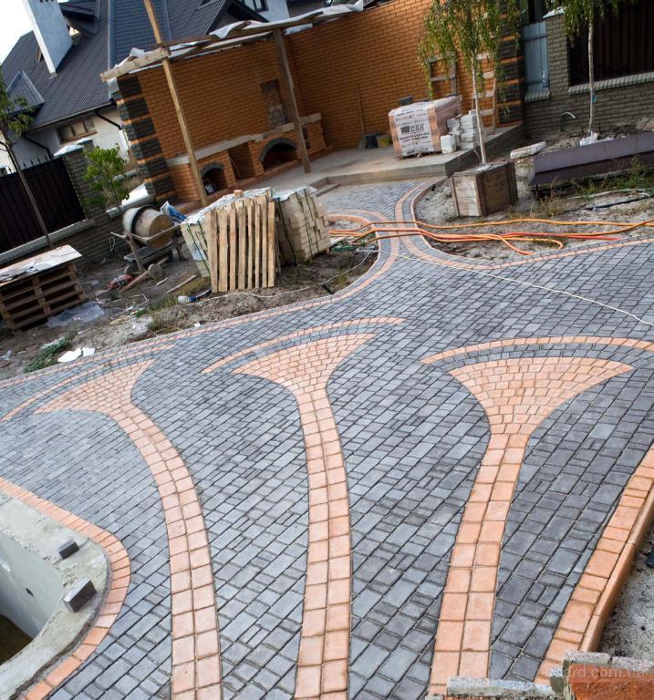 Сделать форм для тротуарной плитки своими руками 96