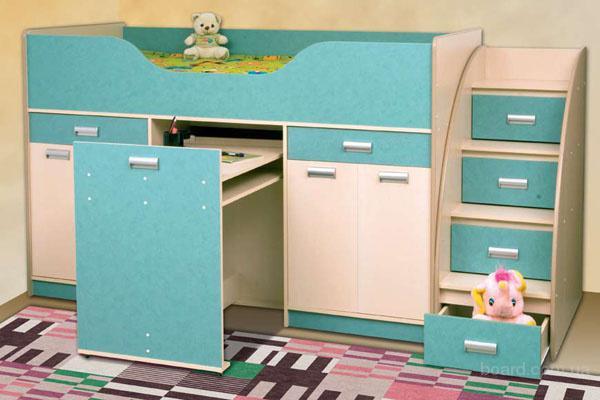 1 950 грн. Детская кровать Капитошка (Сокме