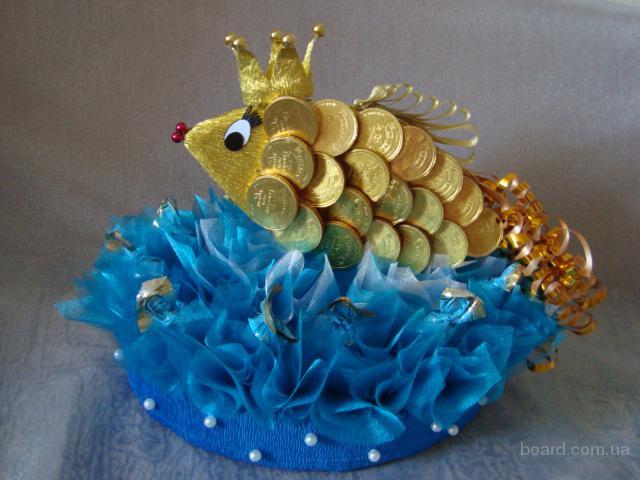 В подарок рыбка своими руками