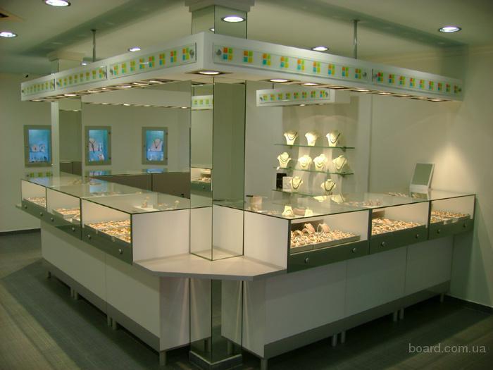 Мебель для ювелирных магазинов и отделов.
