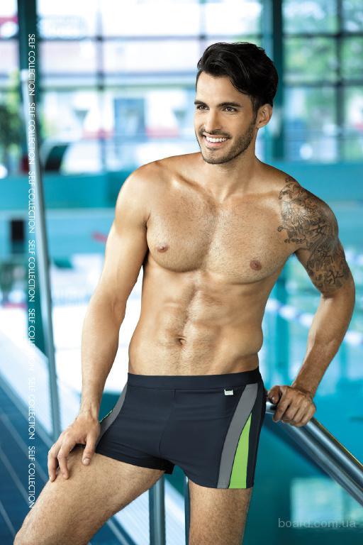 Модные мужские плавки для плавания в бассейне и море