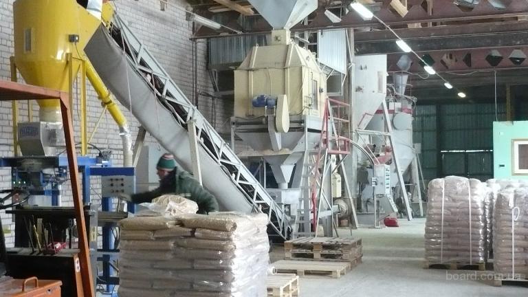 Оборудование для производства пеллет (топливных гранул) и брикетов - 1.