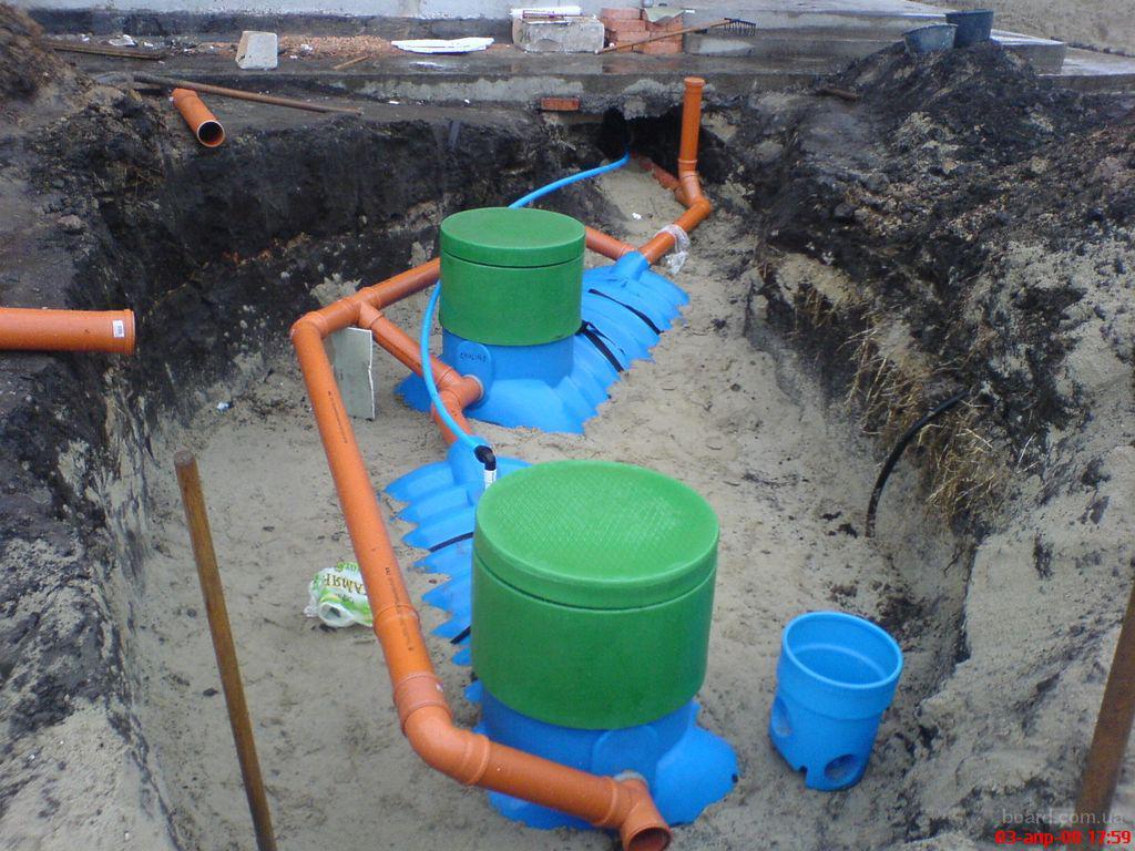 Автономная загородная канализация включается в себя внутри домовую и наружную сеть.  Иными словами - всё, что в доме...