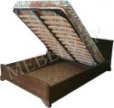 Деревянные кровати с подъемным механизмом от производителя