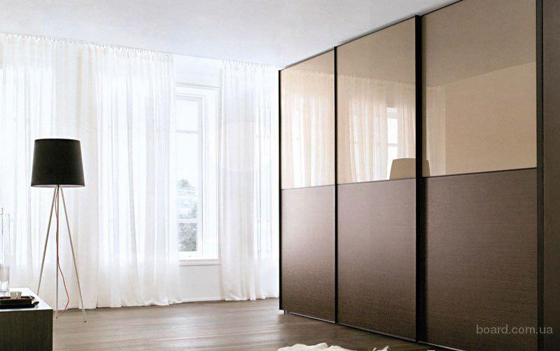 Шкафы купе фото сатинированное зеркало