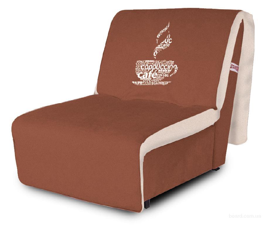 Съемный чехол дивана - искусственная замша.  Выгодно купить Кресло-кровать AFRICA / АФРИКА red 10 - biege 01.