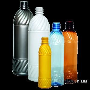 полимерная пластиковая бутылка для живого пива, кваса, спокойного...