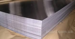 Лист нержавеющий 0,8мм 0,8х1000х2000 технический AISI 430 12Х17 матовый зеркальный