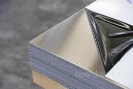 Лист нержавеющий 0,5мм технический AISI 430 12х17 зеркальный