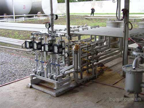Производство смесевого бензина Производство смесевого бензина.