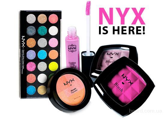 NYX косметика - Официальный сайт. Профессиональная.