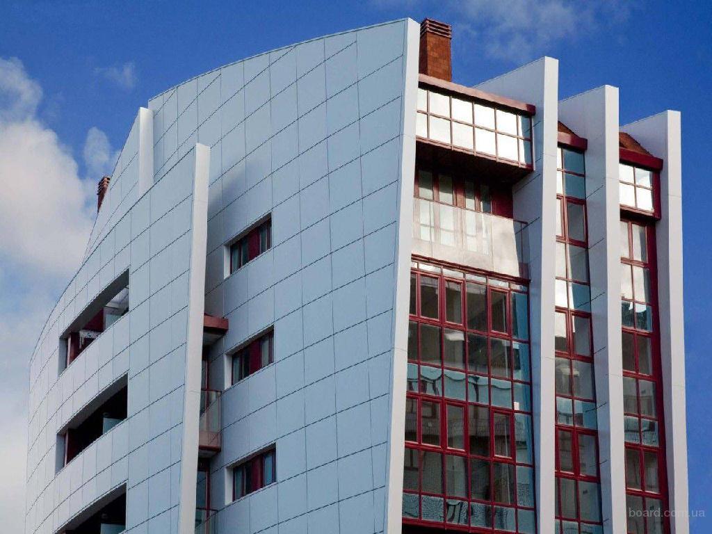 """Компания  """"КАРУС-Строй """" рекомендует применять алюминиевые композитные панели Алюкобонд на крупных фасадных проектах с..."""