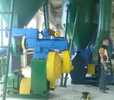 Оборудование для производства топливных гранул (пеллет). продам.