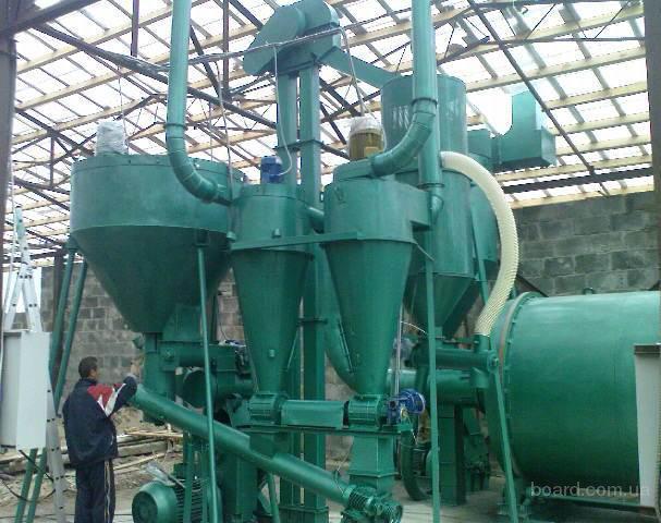 ...комплексы для производства топливных гранул...