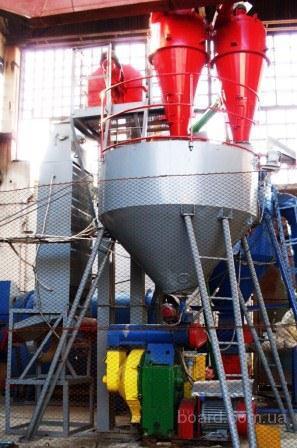 ...узлы для производства топливных гранул пеллет на базе гранулятора ОГМ...