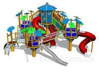 Изготавление детских игровых площадок: детский игровой комлекс, детская...